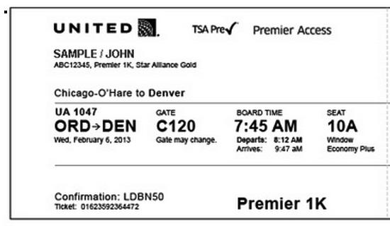 tsa pre boarding pass