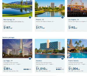 westjet airlines direct flight deals page
