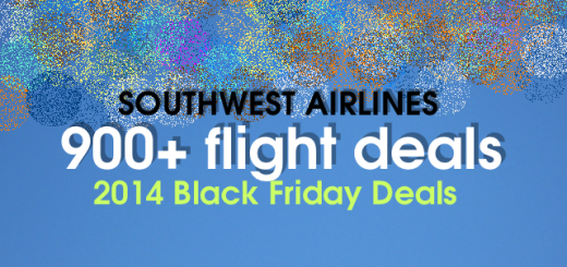 900+ black friday deals from SouthWest Airlines
