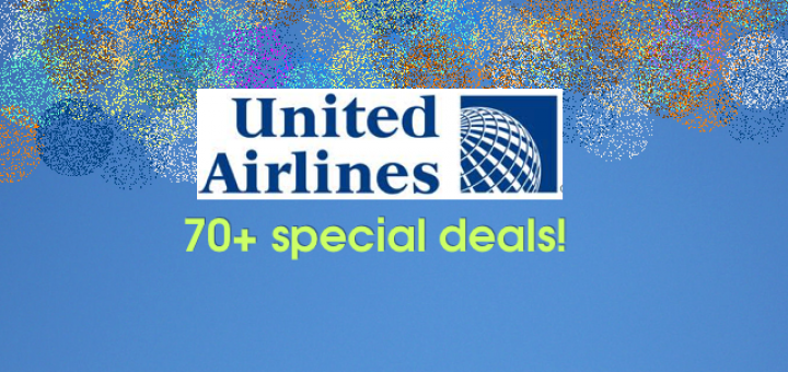 united air deals